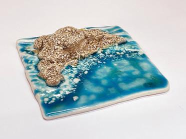 アートなタイル「Coral Reef」