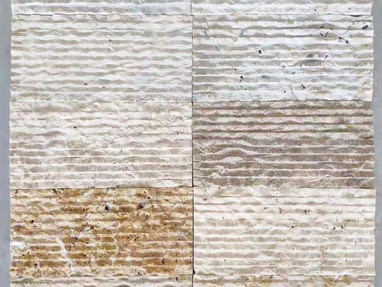 石灰岩の壁材