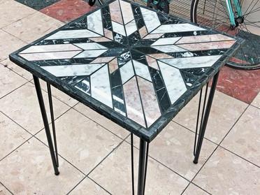 モザイクテーブル「ブルックリンスタイル」試作