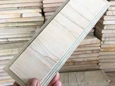 砂岩/中国石材市場にて