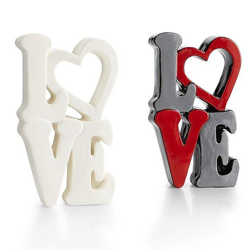 Stacking love plaque