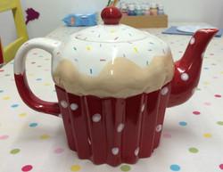 Paint your own tea pot