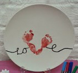 Love footprints