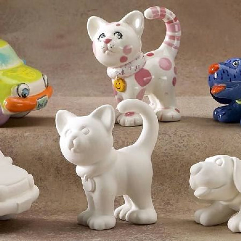 Cat fun figurine
