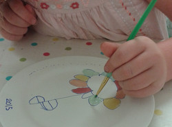 Pottery painting studio