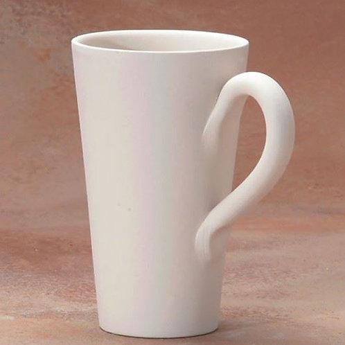 Tall cone mug