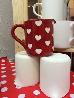 Ceramic cream jug