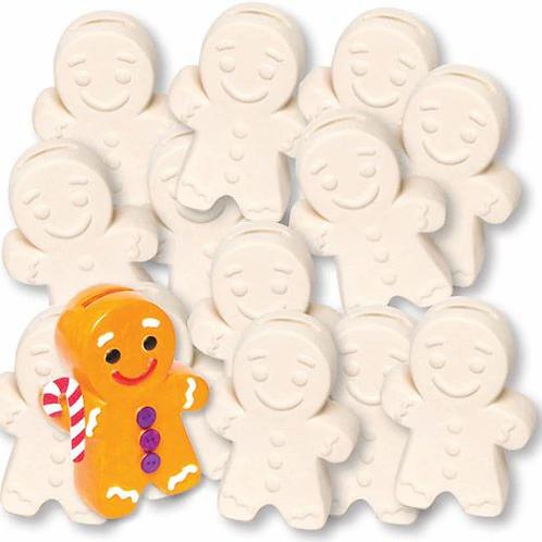 Gingerbread money bank