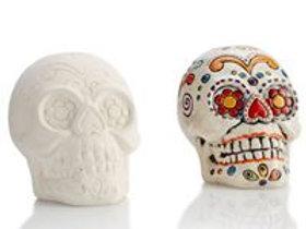 Sugar skull fun figurine
