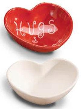 Heart candy dish