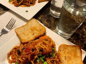 Chili Spaghetti (Gluten-Free & Vegan)