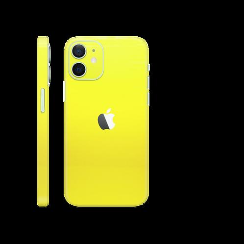 Neon yellow skin folija