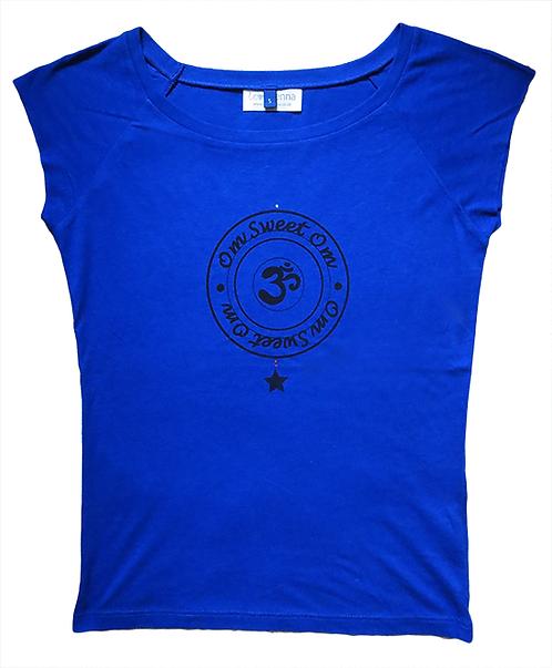 """""""Om Sweet Om"""" Midnight Blue T-Shirt"""