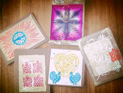 Selection of 5 Greeting Cards