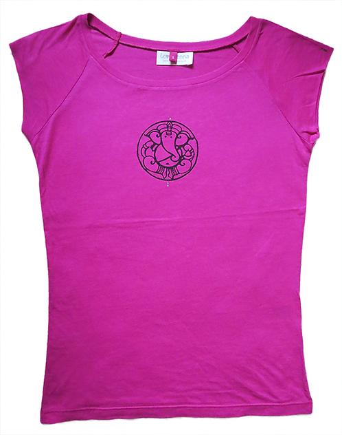 Ganesha Raspberry Pink T-Shirt