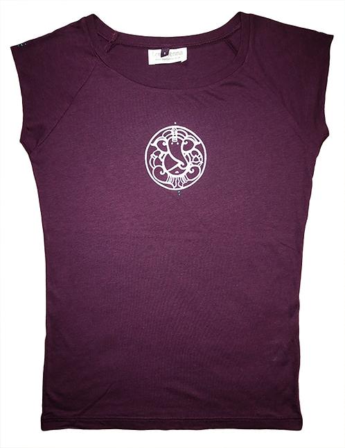 Ganesha Eggplant T-Shirt