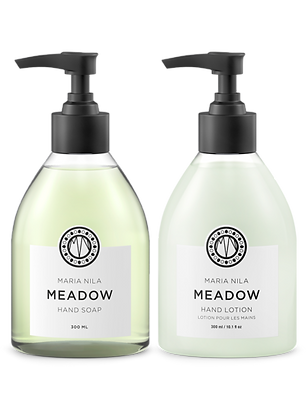 Maria Nila Set: Hand Soap + Lotion Meadow