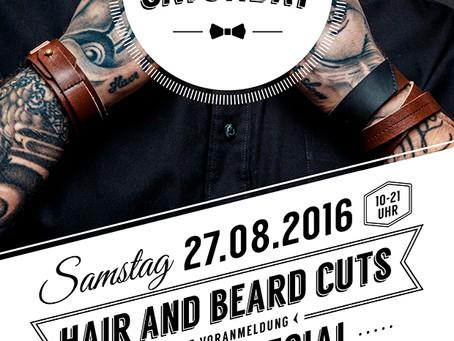 Men's Saturday Tattoo Special