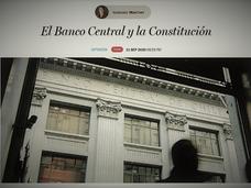 Debate Constitucional y Autonomía del Banco Central