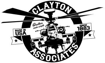 clayton helicopter emblem
