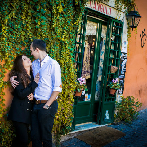 Surprise Proposal in Rome - Leah & Harry