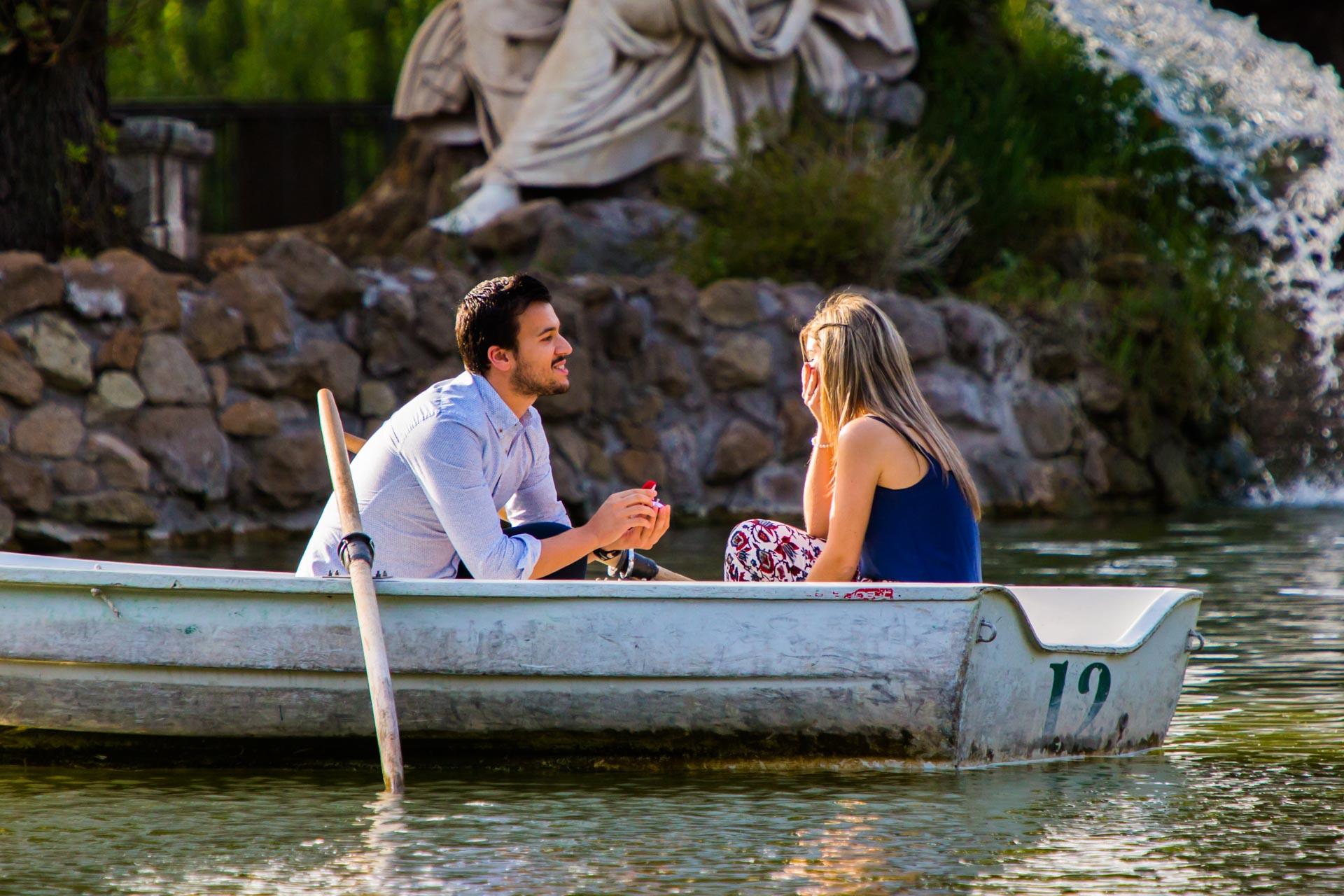 surprise proposal rome
