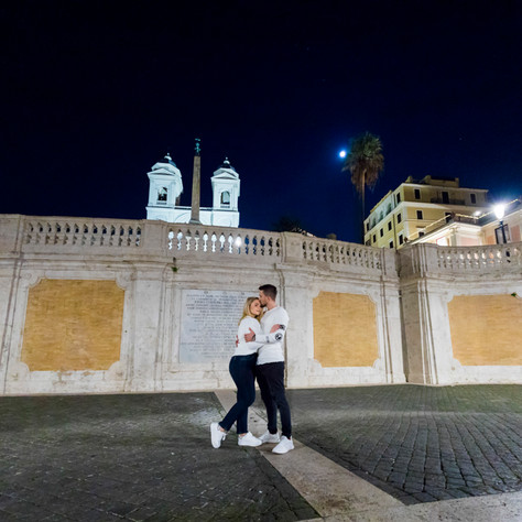 Aaron + Tiffany - Surprise proposal by night!