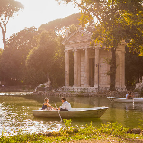 Surprise proposal in Rome - Filipa & Luís