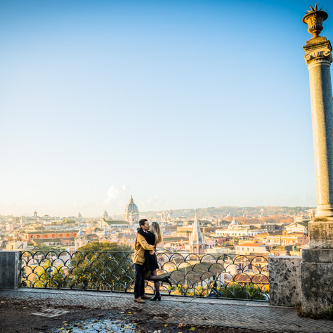 Abby + Rob - A Winter love-story in Rome