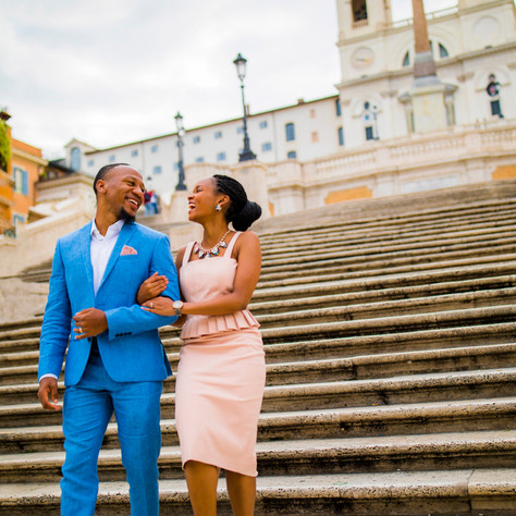 Lily + Joshua - A super-cool Rome Photo-session!