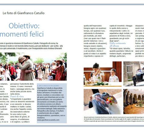 Le foto di Gianfranco Catullo. Obiettivo: momenti felici. A cura di Giuliana Parabiago, direttrice d
