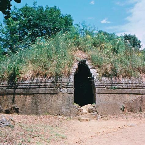 The Etruscan Necropolis of Banditaccia