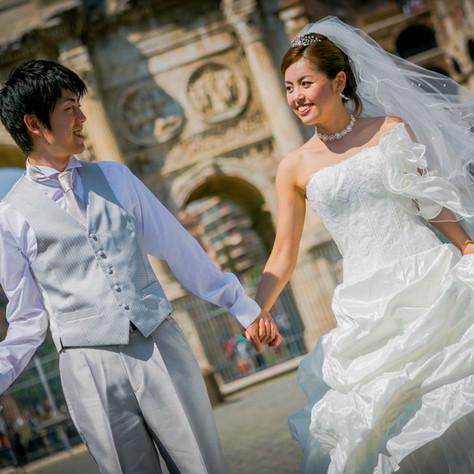 Hayako + Hiro - Minimony Wedding in Rome