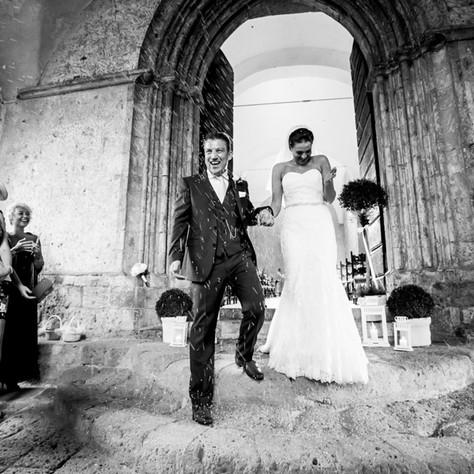 Niamh + Mallan - Orvieto Wedding at La Badia
