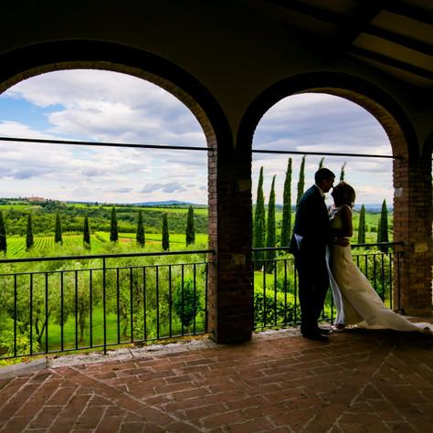 Tuscany Wedding - Tanya & Mark