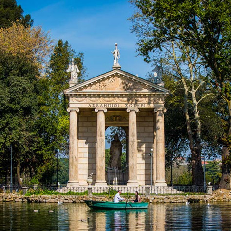 A surprise proposal in Rome - Michelle & Noel