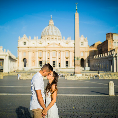 Rachael + Derek - Summer morning at St.Peter Square