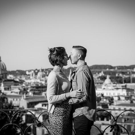 Natalie + Nico - Pincio for a beautiful surprise proposal