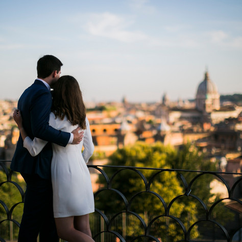 Sarah & Chad - A photo-session in Rome