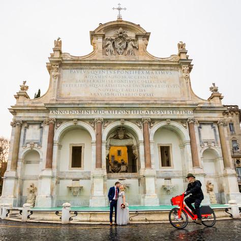Minimony in Rome - Swedish Ambassy wedding