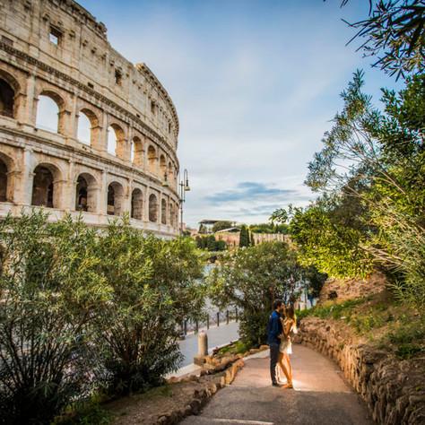 Trevor + Brooke surprise proposal in Rome. Trevi rocks!
