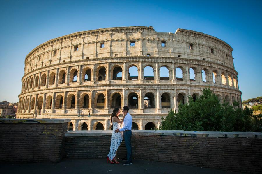 rome surprise propopsal