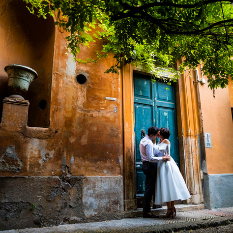 Dan + Annaliese - Another great surprise proposal in Rome