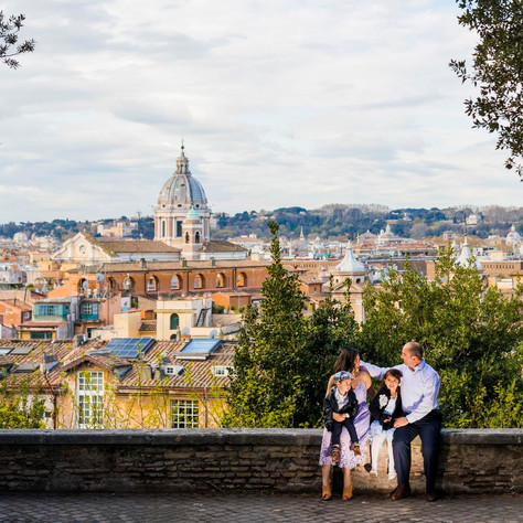 A family session in Rome ^_^