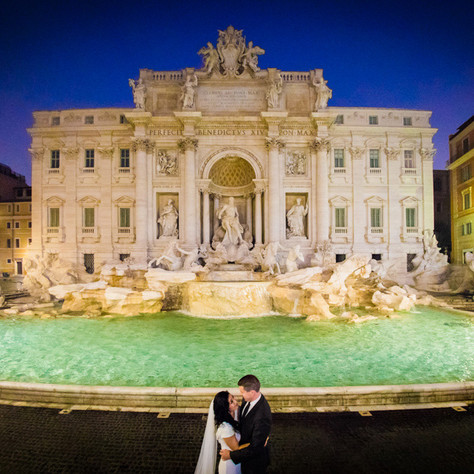 Anna + Greg - Wedding photo-session in Rome