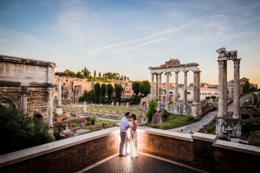 roman forum wedding photography