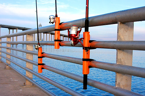 Pieramount fishing rod holder pier fishing bank fishing for Best pier fishing rod