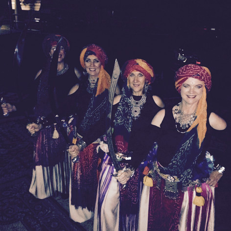 Dance group at Gypsy function