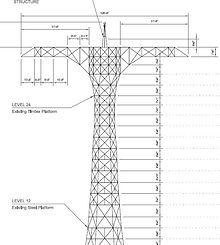 Capture parachute tower