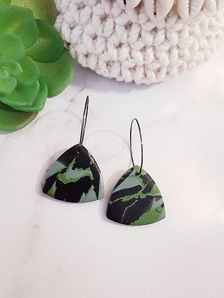 Elise - black/green